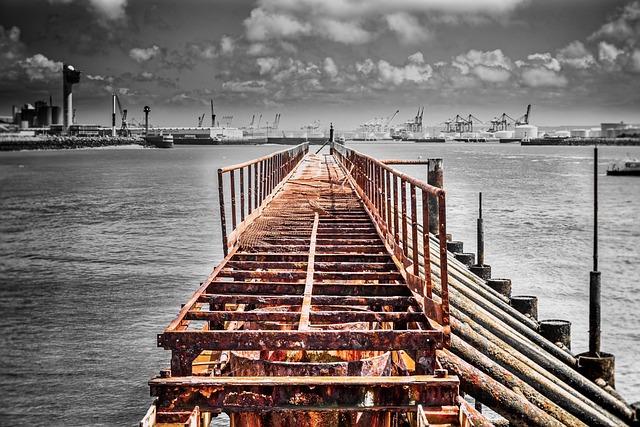 Port, Le Havre, France, Sea, Dock, Old, Maritime