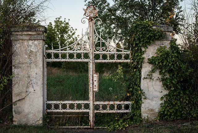 Goal, Old, Old Gate, Input, Iron Gate, Nostalgia