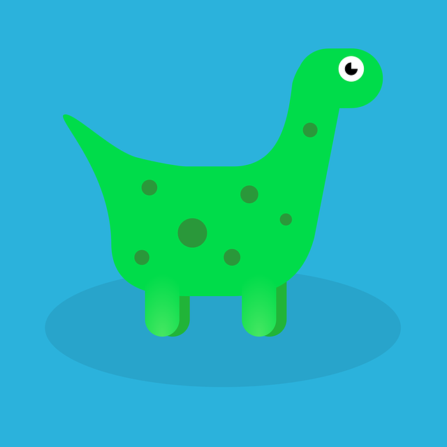 Dino, Dinosaur, Green, Old, Prehistoric