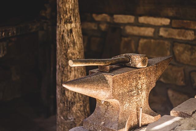 Hammer, Medieval, Tool, Gun, Hammered, History, Old
