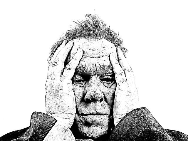 Person, Man, Face, Head, Despair, Old, Age, Senior