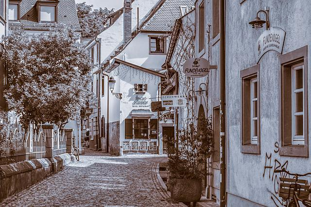 Freiburg, Historic Center, Architecture, City, Old