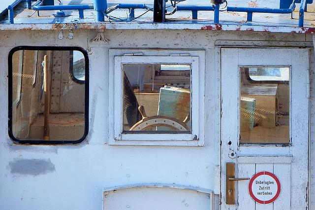 Ship Bridge, Old, Historically, Ship, Ferry, Prettin