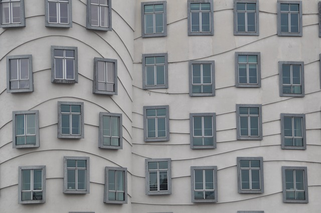 Prague, Dancing House, Window, Architecture, Home, Old