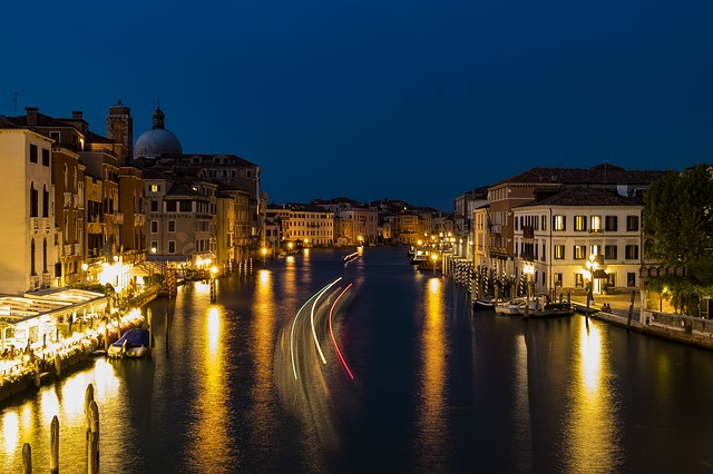 Venice, Italy, Architecture, Channel, Old Houses, City