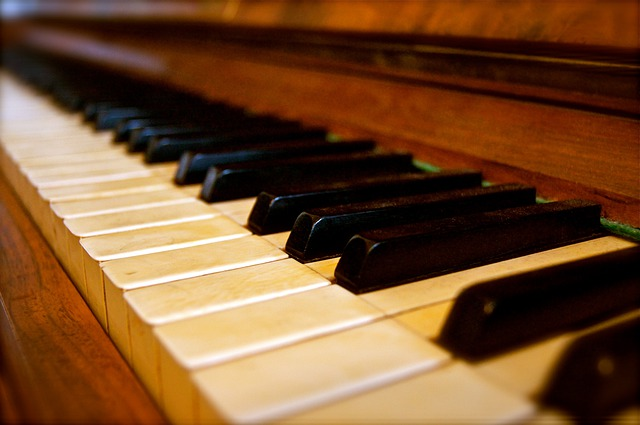 Keys, Piano, Old, Historically, Music, Song, Sound