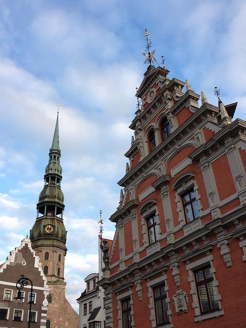 Riga, Old, Latvia, Architecture