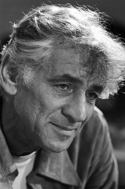 Man, Portrait, Old, Grandpa, Leonard Bernstein, 1971