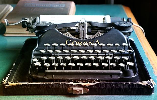 Typewriter, Letters, Antiques, Writer, Old, Keyboard