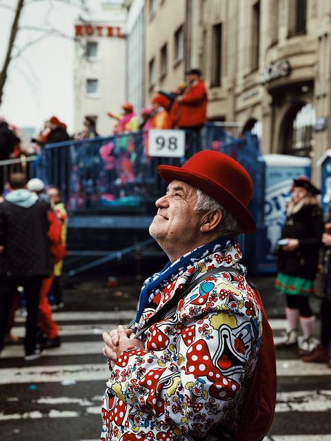 Old Man, Moody, Emotion, Costume, Carnival, Festival