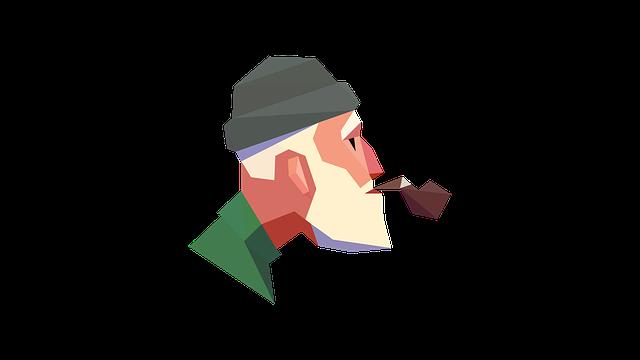 Smoke, Old Man, Smoking, Old, Grandfather, Smoker, Man