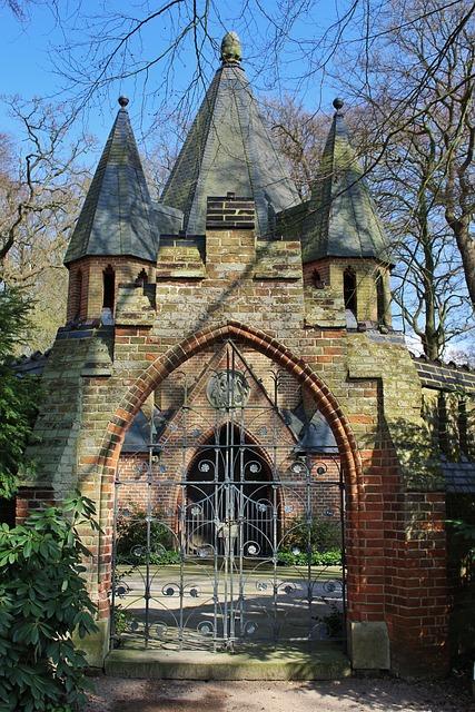 Mausoleum, Etelsen, Architecture, Old, Church, Religion