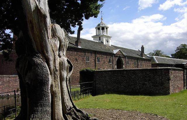 Park, Dunham-massey Park, Historic, Old Mill, Building