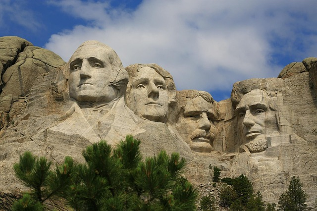 Mountain, Mount Rushmore, Stone, Architecture, Old