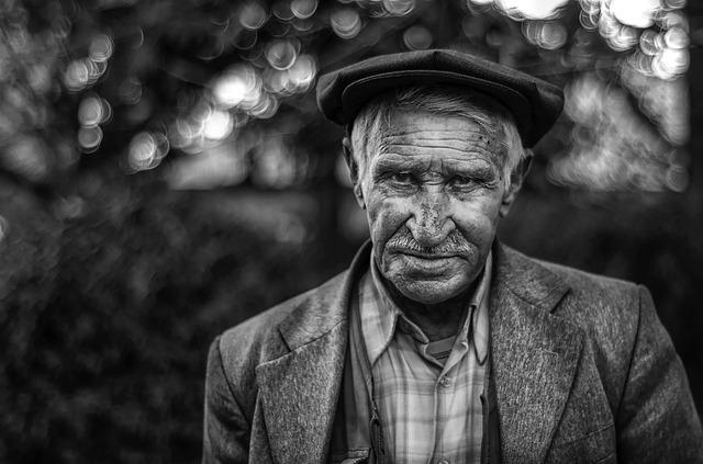 Man, Portrait, Mustafa, Old, Older