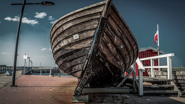 Port, Boat, Old, Wood, Monument, Coast, Nautical