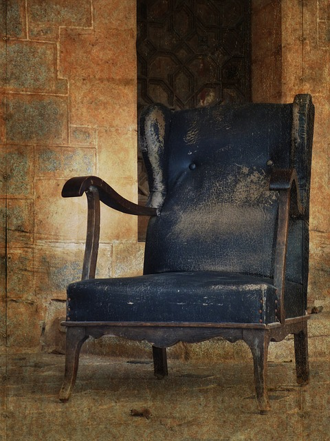 Armchair, Seat, Abandoned, Castle, Nobility, Old