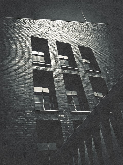 Building, Old, Old Building, Facade, Sinister, Lapsed