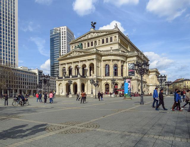 Frankfurt Main, Old Opera, Opera House, Concert Hall