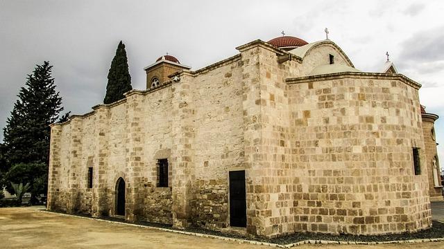 Cyprus, Athienou, Panagia, Church, Old, Orthodox
