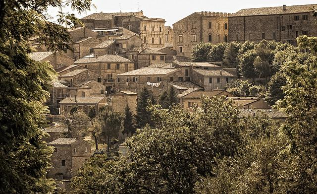 Country, Architecture, Travel, Panoramic, Ancient, Old