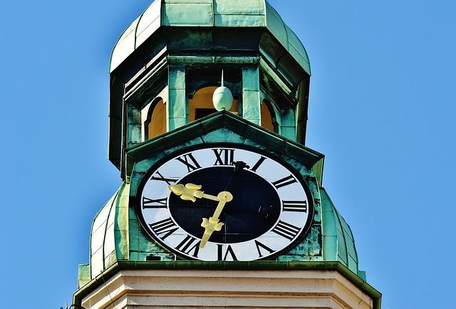 Clock Tower, Church, Old Peter, Marienplatz, Time Of