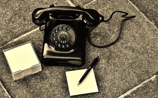 Phone, Old, Year Built 1955, Bakelite, Post, Dial