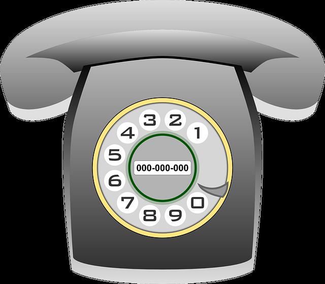 Phone, Telephone, Communication, Technology, Old, Grey