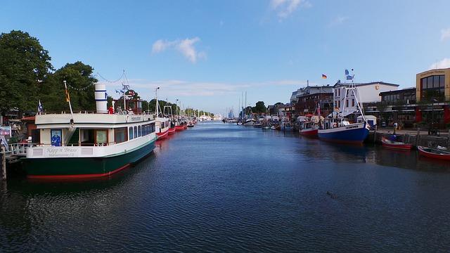Warnemünde, Old Power, Baltic Sea, Boats