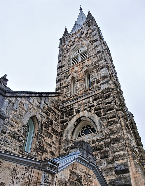 Church, Architecture, Religion, Old