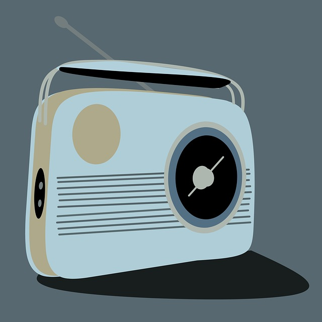 Radio, Retro Styled, Old-fashioned, Music, Old, Cut Out
