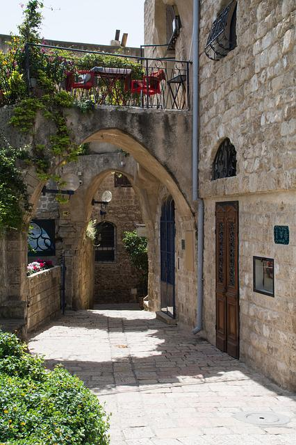 Architecture, Jaffa, Old Street, Old Town, Road, Old