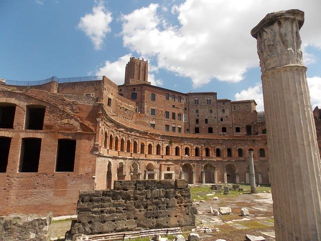 Forum Romanum, Rome, Old, Landmark, Architecture