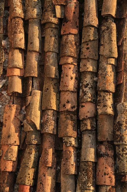 Old, Architecture, Expression, Pattern, Roof Tiles