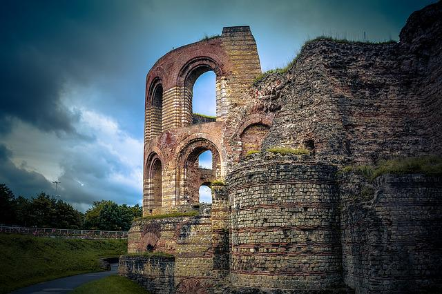 Trier, Ruin, Old, Historically, History, Break Up
