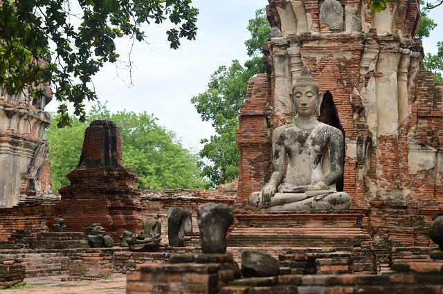 Bangkok, Ayutthaya, The Ancient Capital, Ruins, Old