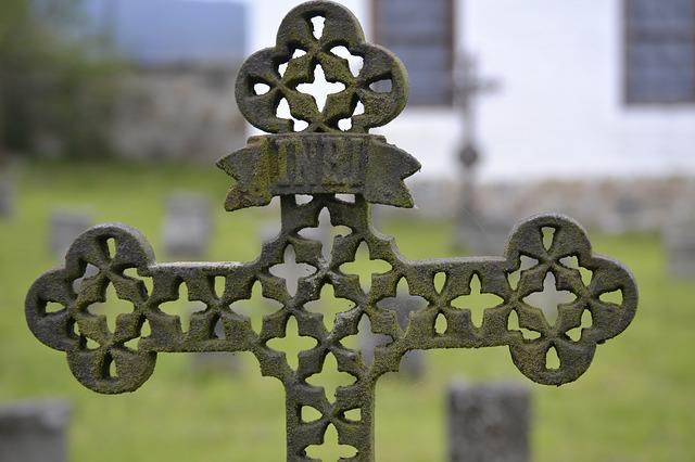 Old, Iron, Cemetery, Rusty, Rusted, Historically