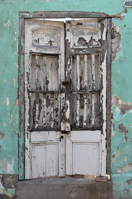Door, Gate Rustica, Old, Passepartout, Rustic, Wood