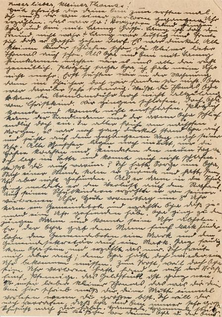 Old, Handwriting, Write, Old Script, German, Postcard