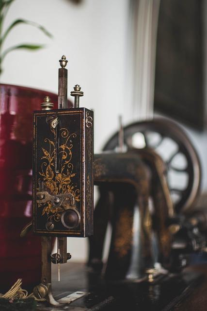 Sewing Machine, Old, Sew, Old Sewing Machine, Metal