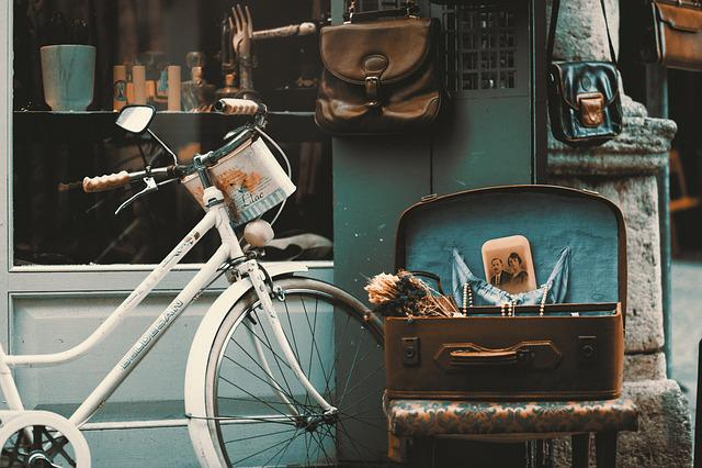 Bicycle, Vintage, Street, Shop, Retro, Istanbul, Old