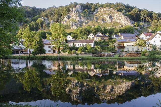 Altmühl Valley, Mirroring, Old Sing