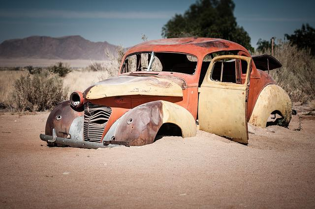 Africa, Namibia, Solitaire, Oldtimer, Bulkhead, Old