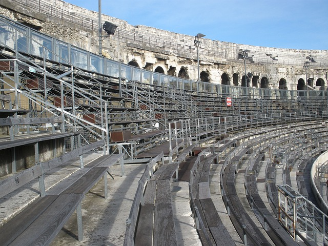 Colosseum, Arena, Nimes, Old Stadium, Arena Nimes