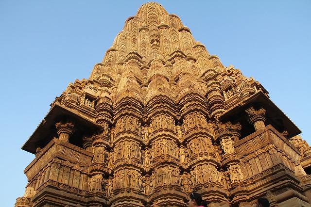 Khajuraho, Architecture, Travel, Religion, Temple, Old