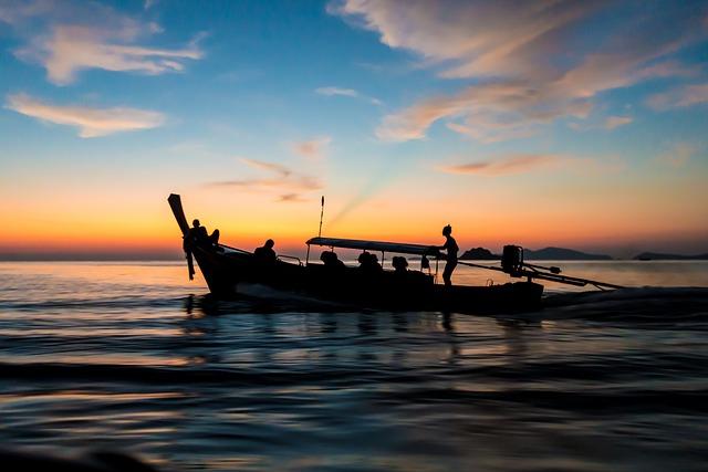 Fishing Boat, Thailand, Old, Kho Lipe, Island, Sea