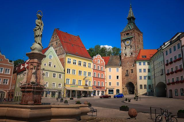 Architecture, City, Travel, Building, Old Town