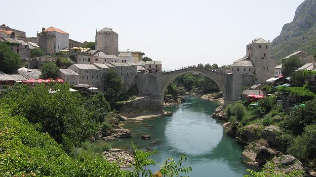 Stari Most, Bridge, Old Town, Mostar