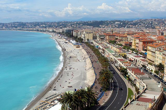 Nice, South Of France, Big City, Old Town, Center Ville