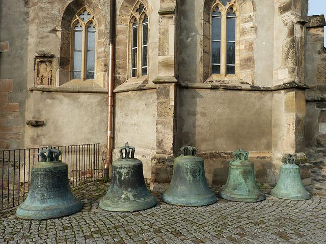 Bells, Church, Magdeburg, Saxony-anhalt, Old Town